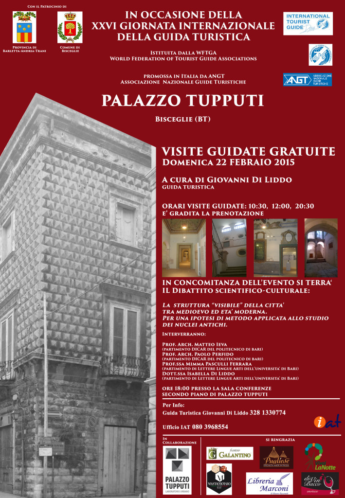 Locandina Palazzo Tupputi per ANGT