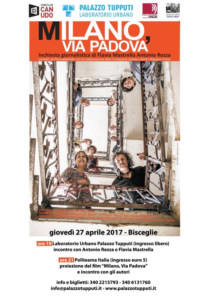 01 - RezzaMastrella - MANIFESTO 98 x 140cm - MILANO via Padova -